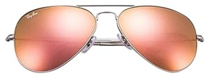 Ray-Ban Ray-Ban Copper Flash Lens w/ Silver Frame Sunglasses RB3025 019/Z2