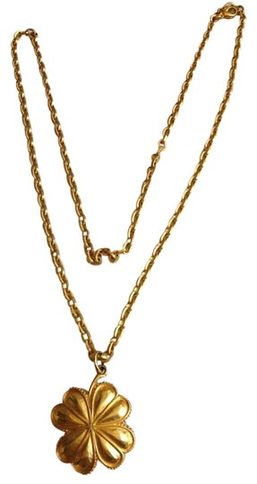 Preload https://item5.tradesy.com/images/karl-lagerfeld-gold-toned-vintage-necklace-197169-0-0.jpg?width=440&height=440
