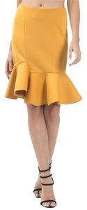Caribbean Queen Skirt Mustard