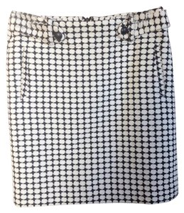Banana Republic Skirt Black/White