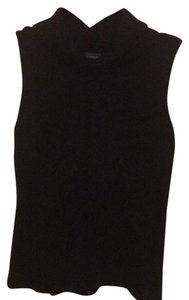 Mendocino Top Black W/Cable Knit