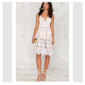 For Love & Lemons And Lace Gianna Midi Dress