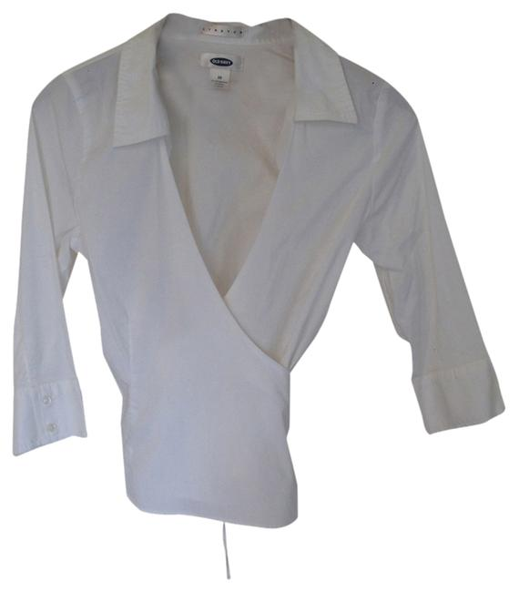 Other Wrap Office Boss Top White