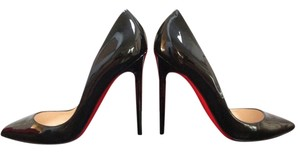 Christian Louboutin So Kate Iriza Daffodil Black Pumps