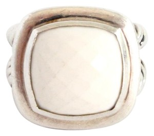David Yurman David Yurman Sterling Silver White Agate Albion Ring
