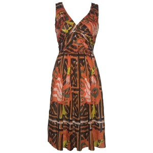 Prada short dress Orange on Tradesy