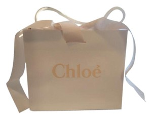 Chlo CHLOE SHOPPING BAG/duster WITH RIBBON ATTACHED