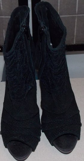 Fergie Black Boots