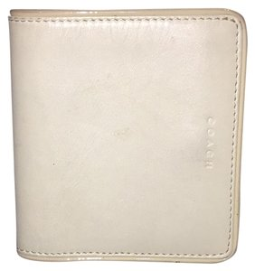 Coach Kisslock Bifold Dualcolor Pink And White Coach Wallet