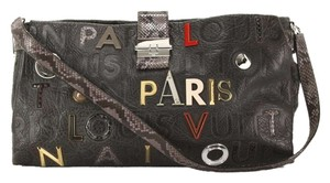 Louis Vuitton Shoulder Colalge Lutece Cross Body Bag
