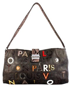Louis Vuitton Colalge Lutece Limited Edition Cross Body Bag