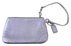 Coach Metallic Leather Wallet/Wristlet