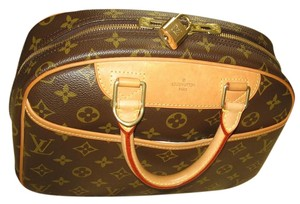 Louis Vuitton Lv Deauville Small Vintage Satchel in Brown