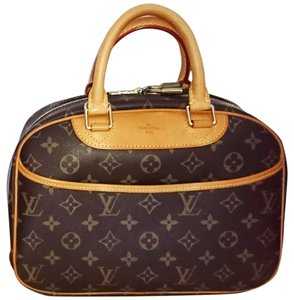 Louis Vuitton Deauville Small Vintage Satchel in Brown