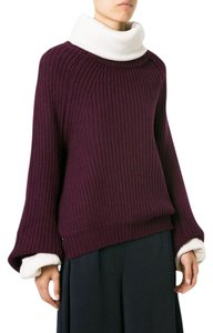 TOGA Pulla Oversized Cable Knit Cropped Sweater