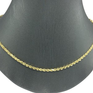 Other 14K Yellow Gold ~2.50mm Rope Chain 16 Inches