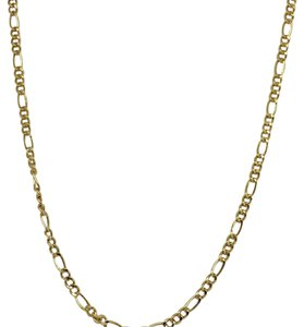 14K Yellow Gold ~2.00mm Figaro Chain 16 Inches