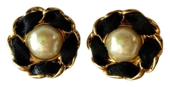 Preload https://item5.tradesy.com/images/chanel-black-leather-pearl-clip-on-flower-earrings-197189-0-0.jpg?width=440&height=440