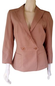 Max Studio Tailored Jacket Tan Blazer