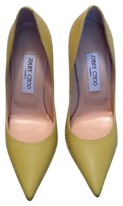 Jimmy Choo Light yellow Pumps
