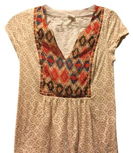 Anthropologie T Shirt Multi