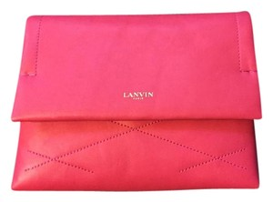Lanvin Lambskin Sugar Pink Cross Body Bag