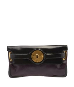 Balenciaga Black Evening Black,Purple Clutch
