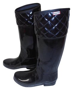 Hunter Rainboot Black Boots