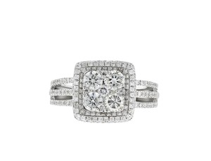 Other 14k White Gold and 1.43 ct Diamond Ring Size 7