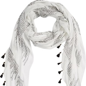 Wildfox Life Is Good Printed Scarf