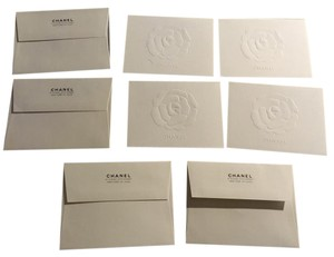 Chanel Chanel Camellia Blank Greeting Cards And Envelopes
