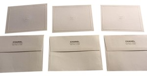 Chanel Chanel Cc Blank Greeting Cards With Chanel Envelopes