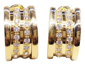 BVLGARI Bulgari B-Zero Yellow Gold Diamond Earrings