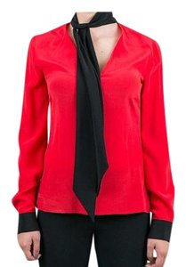 CoSTUME NATIONAL Top Red/Black