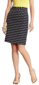Banana Republic Br Designer Celeb Fun Skirt Navy