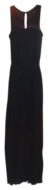 Item - Maroon Flowy Tie Sweetheart Illusion Mid-length Casual Maxi Dress Size 2 (XS)