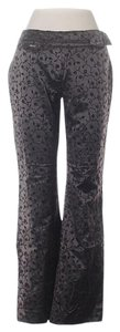 Miss Sixty Embroidered Low-rise Boot Cut Pants