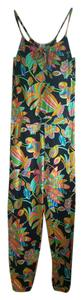 Trina Turk Nylon Beachwear Tropical Stretchy Dress
