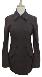 Dries van Noten Pea Double Breasted Casual Jacket Pea Coat