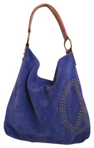 Lucky Brand Suede Hobo Bag