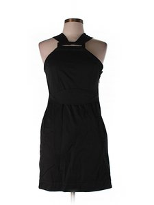 French Connection short dress Black Cross Strap on Tradesy