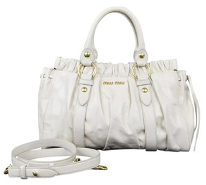 Miu Miu Crossbody Leather Shoulder Bag