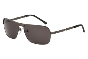 Police Police S8745 LEGEND-1 Sunglasses 8745 (584P) Gun Polarized Authentic