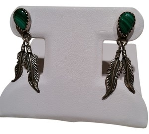 unknown Southwestern sterling silver earrings