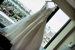Oleg Cassini Cwg730 Wedding Dress