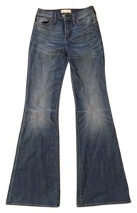 Madewell Flea Market Flare Leg Jeans-Medium Wash