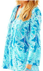 Lilly Pulitzer Top Into The Blue