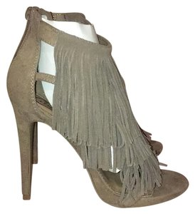Candie's Taupe Platforms