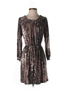 Tart Metallic Print Dress