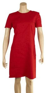 Lanvin Cocktail Linen Viscose Cotton Dress
